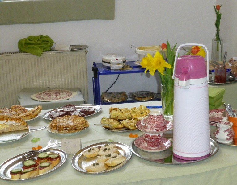Cafeteria-Auswahl