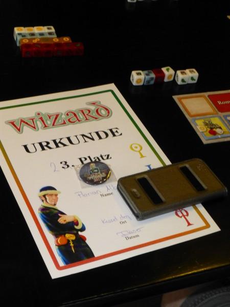 Wizard-Urkunde