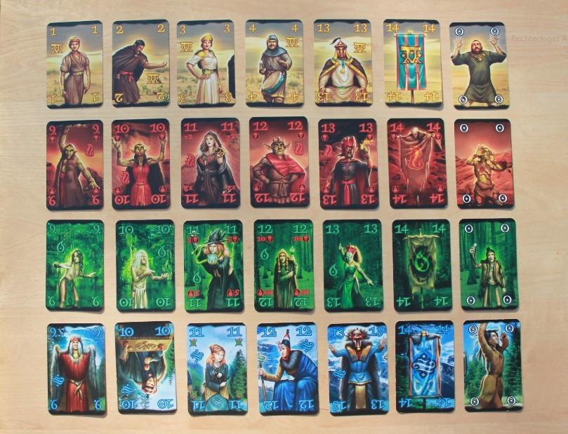 Wizard Karten